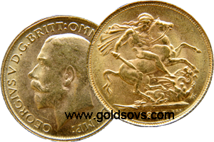 Canada Gold Sovereign 1916