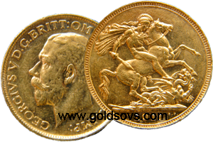 1916 Gold Sovereign
