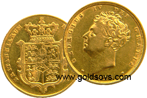 George IV 1828 Gold Sovereign