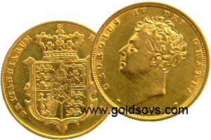 George IV 1830 Gold Sovereign