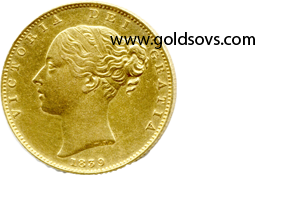 1839 Gold Sovereign