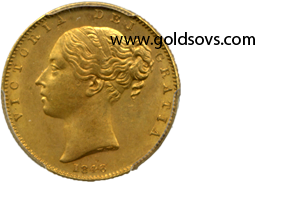 Victoria 1846 Gold Sovereign MS64