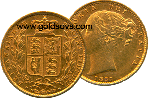 1852 Gold Sovereign