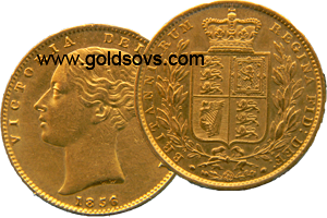 1857 Gold Sovereign