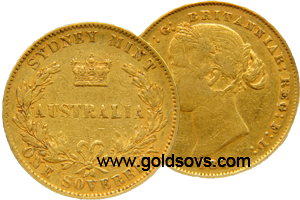 1855 Australia Sovereign