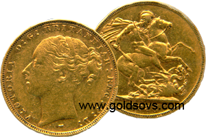 1879 Melbourne Gold Sovereign