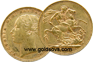 1879 British Sovereign