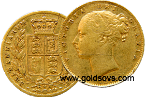 Melbourne Gold Soveriegn Shield 1884
