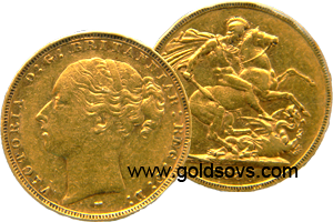 1884 Melbourne Gold Sovereign