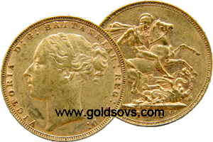 1884 British Sovereign