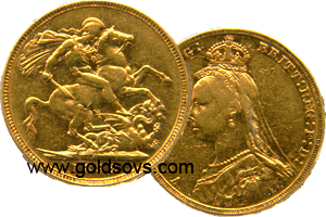 1893 Melbourne Gold Sovereign