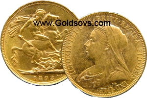 1893 Gold Sovereign