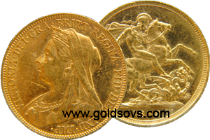 1901 Sydney Gold Sovereign