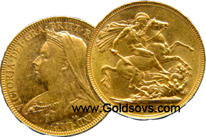 1901 Gold Sovereign