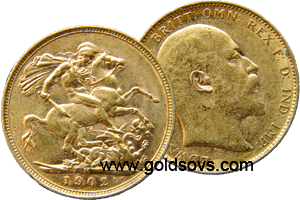 Melbourne Minted Gold Sovereign 1902