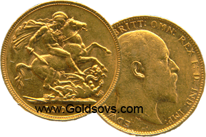 Perth Minted Gold Sovereign 1902