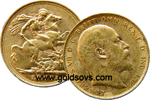 Melbourne Minted Gold Sovereign 1904