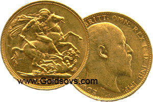 Perth Minted Gold Sovereign 1904