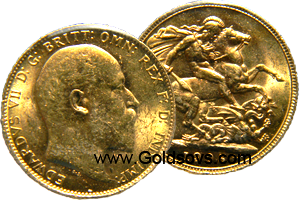 1904 Gold Sovereign