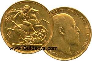 Perth Minted Gold Sovereign 1907