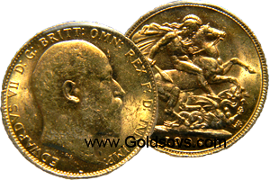 1909 Gold Sovereign