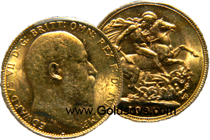 1910 Gold Sovereign