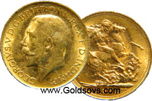 Perth Gold Sovereign 1911