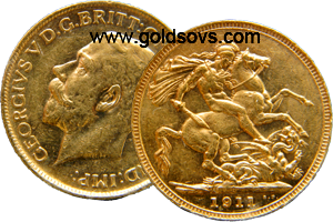 Sydney Gold Sovereign 1911