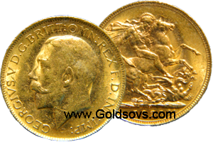 Perth Gold 1912 Sovereign