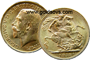 1915 British Sovereign