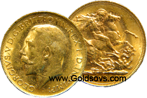 Perth Gold 1916 Sovereign