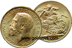 1916 British Sovereign