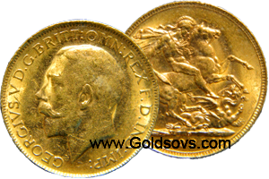 Perth Gold Sovereigns 1923