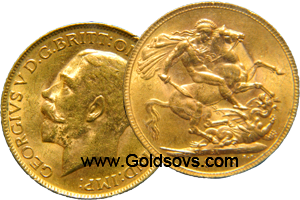 George V 1927 Gold Sovereign