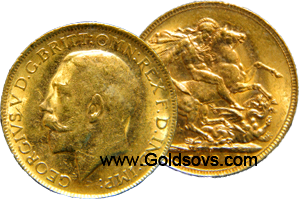 Perth Gold Sovereign